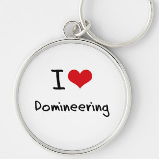 I Love Domineering Keychains