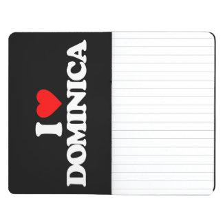 I LOVE DOMINICA JOURNALS