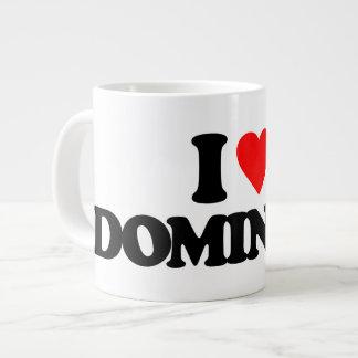 I LOVE DOMINICA JUMBO MUGS
