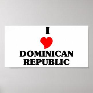 I Love Dominican Republic Posters