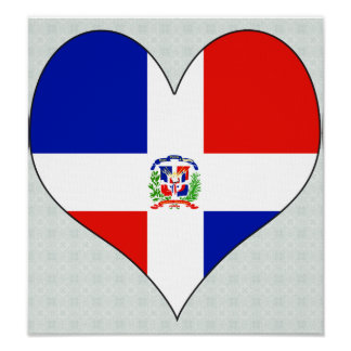 I Love Dominican Republic Poster