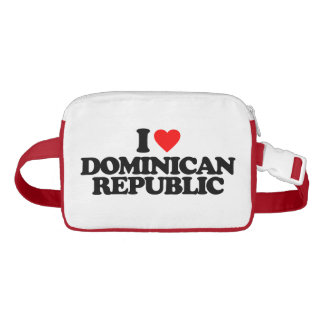 I LOVE DOMINICAN REPUBLIC WAIST BAG