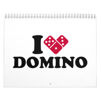 I love Domino Calendar