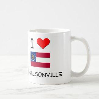 I Love DONALSONVILLE Georgia Mugs