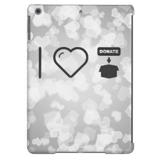 I Love Donate Foods iPad Air Covers