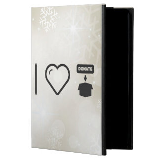I Love Donate Foods iPad Air Cover
