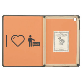 I Love Donate Monies iPad Air Case