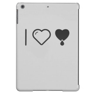 I Love Donating Blood iPad Air Cover