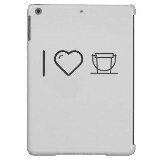 I Love Donation Buckets Case For iPad Air