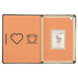 I Love Donation Buckets iPad Air Cover