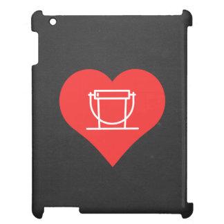 I Love Donation Buckets Design Case For The iPad 2 3 4