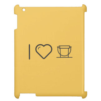 I Love Donation Buckets Case For The iPad