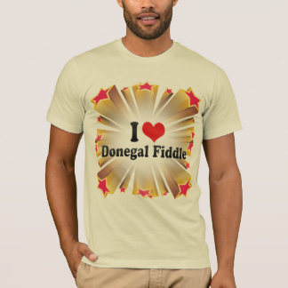 I Love Donegal Fiddle T-Shirt