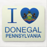 I Love Donegal, PA Mouse Pads