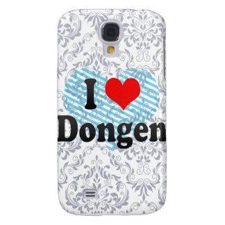 I Love Dongen, Netherlands Samsung Galaxy S4 Cases