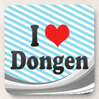 I Love Dongen, Netherlands Drink Coaster