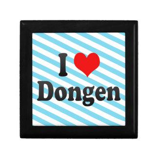 I Love Dongen, Netherlands Keepsake Box