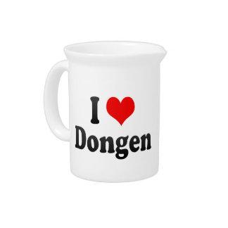 I Love Dongen, Netherlands Drink Pitcher