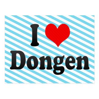 I Love Dongen, Netherlands Postcard