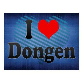 I Love Dongen, Netherlands Post Card