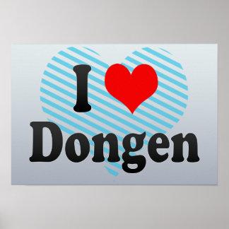 I Love Dongen, Netherlands Print