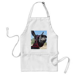 I Love Donkeys! Adult Apron