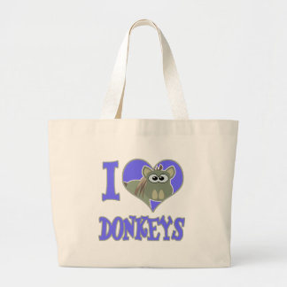 I Love donkeys Bag