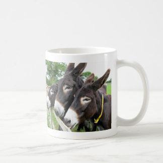 I Love Donkeys! Classic White Coffee Mug