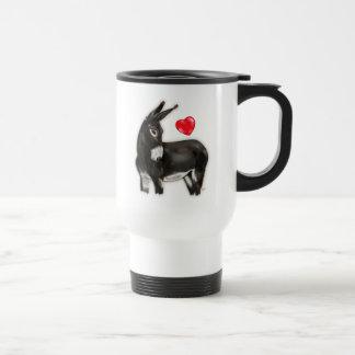 I Love Donkeys Demure Donkey Mug