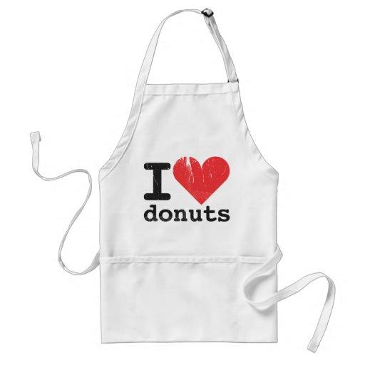 I love donuts Apron