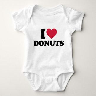 I love donuts baby bodysuit
