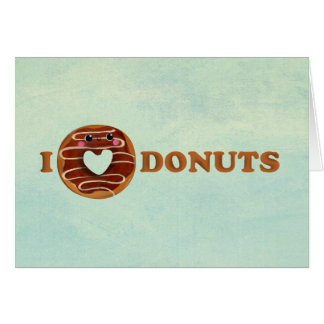 I love Donuts Card
