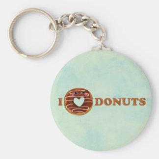 I love Donuts Keychain