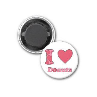 I love donuts refrigerator magnets