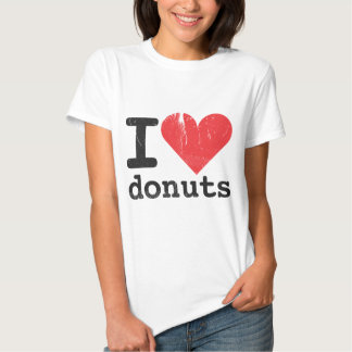 I love donuts Women's Fitted T-shirt