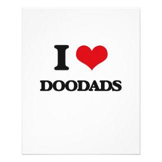 I love Doodads Full Color Flyer