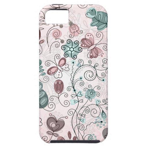 i love doodles iPhone SE/5/5s case