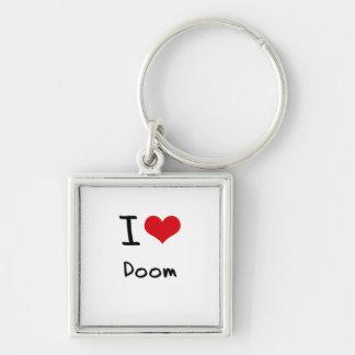 I Love Doom Keychains
