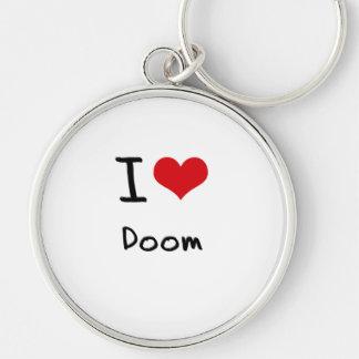 I Love Doom Key Chain