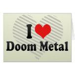 I Love Doom Metal Cards