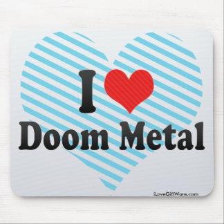 I Love Doom Metal Mousepads