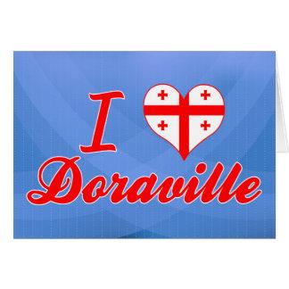 I Love Doraville, Georgia Greeting Card
