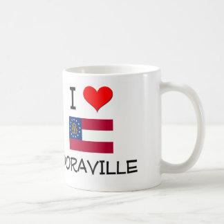 I Love DORAVILLE Georgia Classic White Coffee Mug