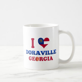 I Love Doraville, Georgia Classic White Coffee Mug