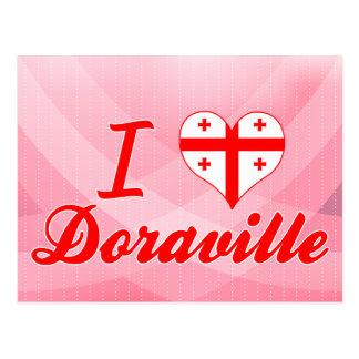 I Love Doraville, Georgia Postcard