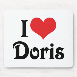 I Love Doris Mouse Pad