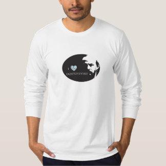 I Love Dostoyevsky Men's Tshirt