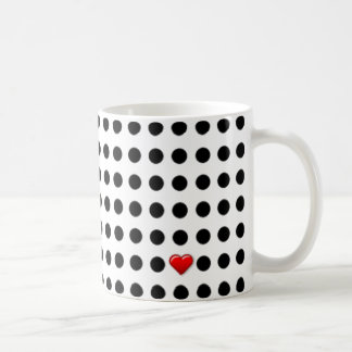 I Love Dots Mug