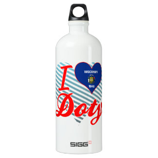 I Love Doty, Wisconsin SIGG Traveler 1.0L Water Bottle