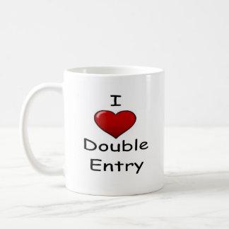 I Love Double Entry ! Coffee Mug